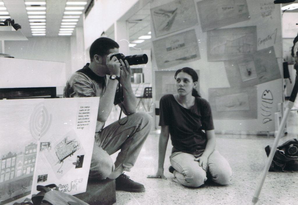 William Dondyk y Lorena Riga jovenes